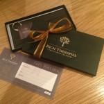 present gift certificate